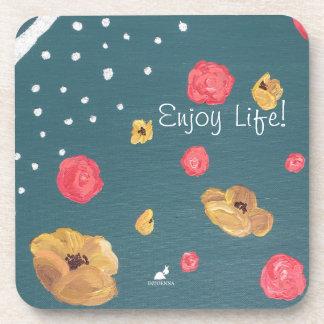 Appréciez la vie ! Dessous de verre