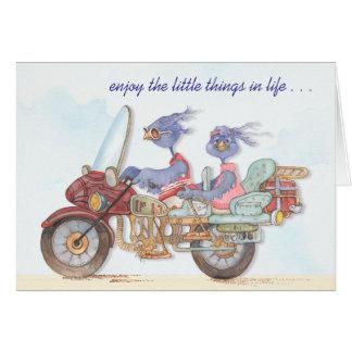Appréciez les petites choses - carte de voeux