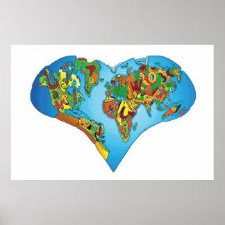 apprenez à aimer notre monde posters