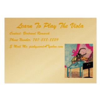 Apprenez à jouer l'alto comme un pro carte de visite grand format