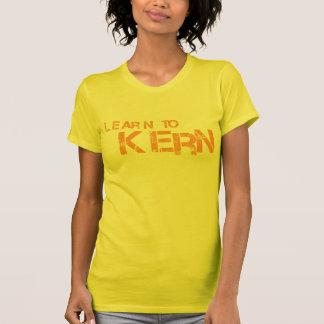 Apprenez à Kern - orange T-shirt