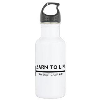 Apprenez à soulever la bouteille d'eau