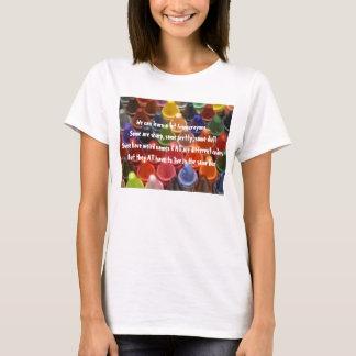 Apprenez du T-shirt de crayons