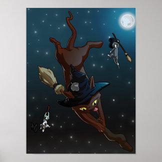 Apprentis de chat de sorcière posters