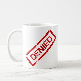 approuvé, nié mug