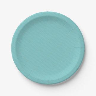 Approvisionnement minimaliste géométrique bleu de assiettes en papier