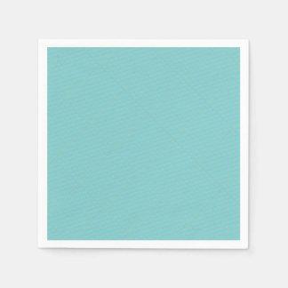 Approvisionnement minimaliste géométrique bleu de serviette jetable