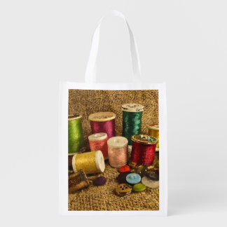 Approvisionnements de couture sacs d'épicerie