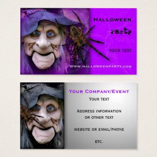 Approvisionnements de partie de Halloween ou carte