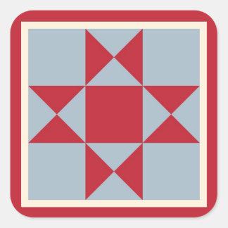 Approvisionnements d'emballage cadeau - bloc sticker carré