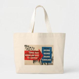 Appui de la guerre mondiale 2 sac en toile jumbo