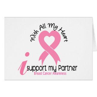 Appui du cancer du sein I mon associé Cartes