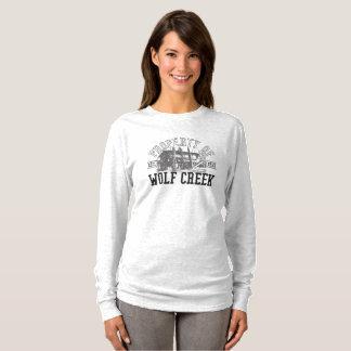 Appui vertical de Wolf Creek - Longsleeve de base T-shirt