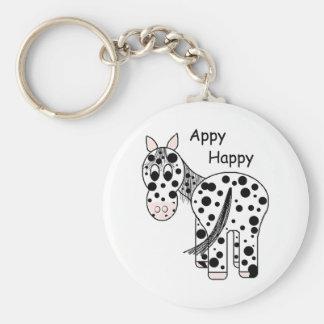 Appy heureux - Appaloosa de léopard Porte-clefs
