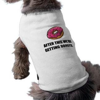 Après ceci obtenant des butées toriques t-shirt pour chien
