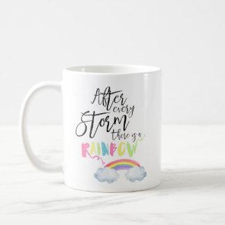 Après chaque tempête il y a une tasse de café