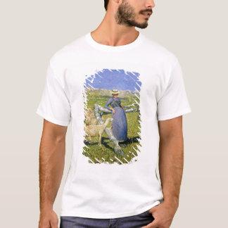 Après-midi dans les Alpes, 1892 (huile sur la T-shirt