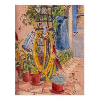 Après-midi dans une carte postale française
