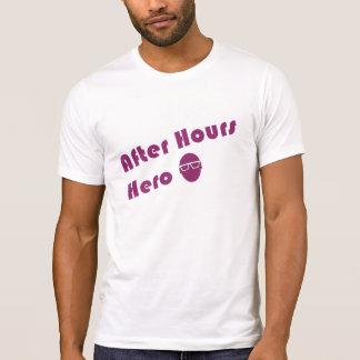 Après type de hippie de héros d'heures t-shirt