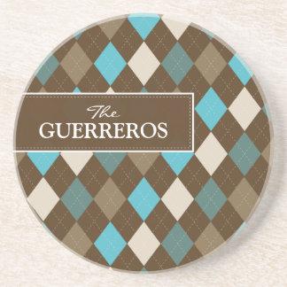 Aqua de Guerreros/dessous de verre de chocolat Dessous De Verres
