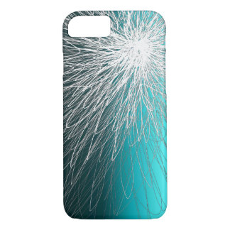 Aqua inverse rayonnant - coque iphone d'Apple