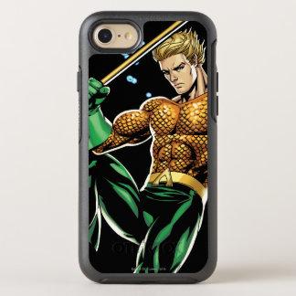 Aquaman avec la lance coque otterbox symmetry pour iPhone 7