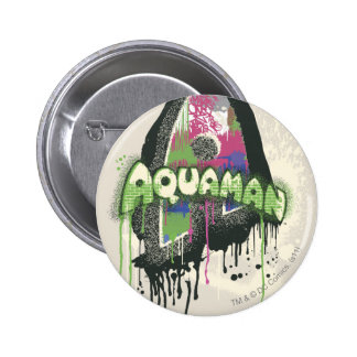 Aquaman - lettre tordue d'innocence badge