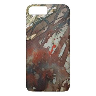 aquarelle 2 d'arrière - plan coque iPhone 7 plus