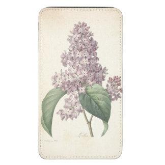 Aquarelle botanique vintage lilas par Redoute Housse Pour Portable