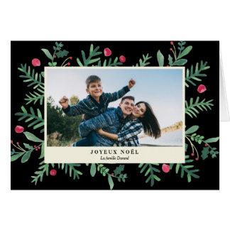 Aquarelle | Carte de Noël de Joyeux Noël