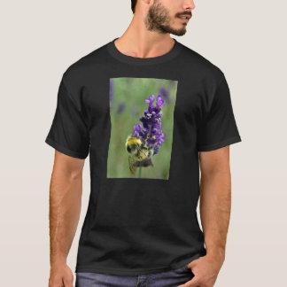 Aquarelle de bourdon de lavande t-shirt
