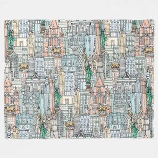 Aquarelle de New York Couverture Polaire