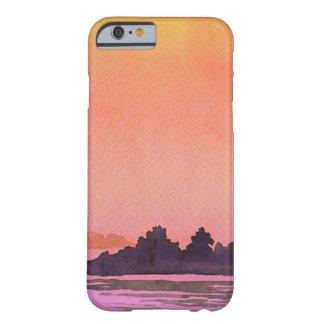 Aquarelle de paysage de sérénité coque iPhone 6 barely there