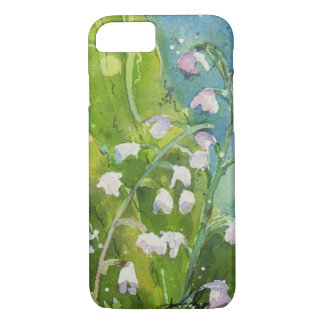 Aquarelle du muguet coque iPhone 7