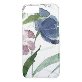 aquarelle florale coque iPhone 7