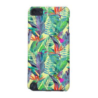 Aquarelle Humminbirds dans la jungle Coque iPod Touch 5G