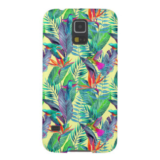 Aquarelle Humminbirds dans la jungle Coques Galaxy S5