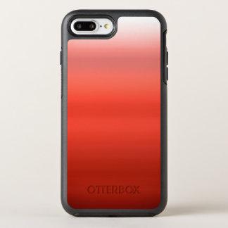 Aquarelle rouge Ombre Coque Otterbox Symmetry Pour iPhone 7 Plus