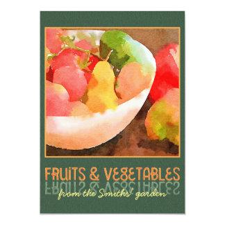Invitations fruits l gumes faire part fruits l gumes cartons d 39 invitation fruits l gumes - Fruits et legumes de a a z ...