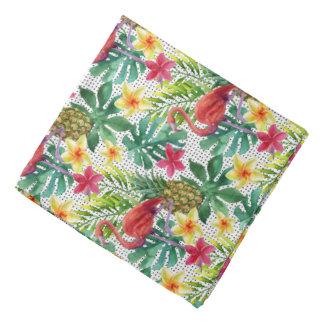 Aquarelle tropicale bandana