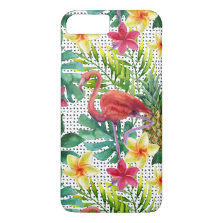 Aquarelle tropicale coque iPhone 7 plus