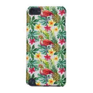 Aquarelle tropicale coque iPod touch 5G
