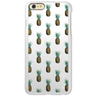Aquarelle tropicale d'ananas