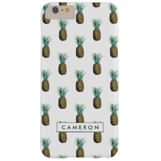 Aquarelle tropicale d'ananas coque barely there iPhone 6 plus
