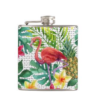 Aquarelle tropicale flasques