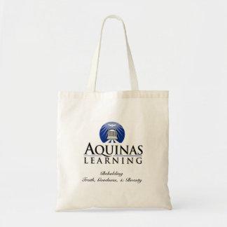 Aquinas apprenant la petite plaine de Fourre-tout Tote Bag
