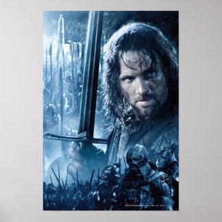 Aragorn contre Orcs Posters
