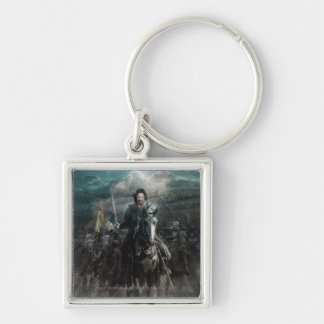 Aragorn menant sur le cheval porte-clé