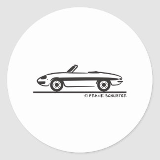 Araignée 1966 d Alfa Romeo Duetto Veloce Adhésifs