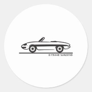 Araignée 1966 d'Alfa Romeo Duetto Veloce